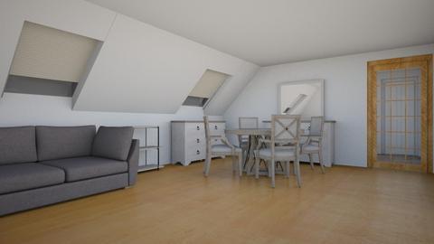 Living_5 - Modern - Living room  - by Ollya2307