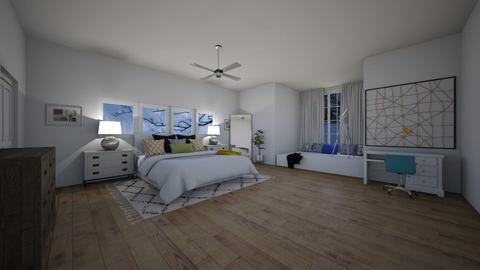 Nightfall - Bedroom  - by CaramelPopcorn