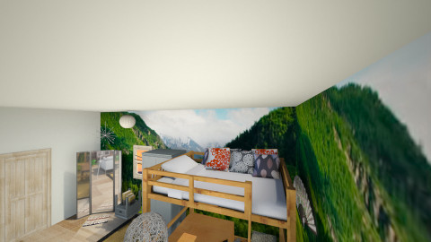Loft Bed - Eclectic - Bedroom  - by Christina Zouras