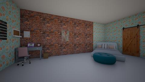 cute New York bedroom - by jannahoman