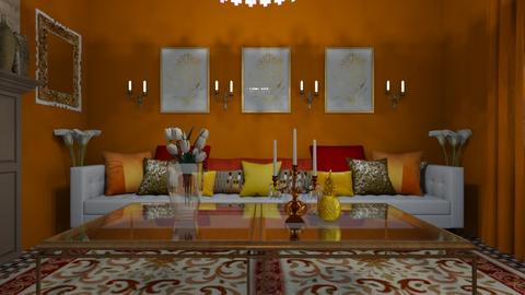 India Living - Global - Living room  - by decordiva1