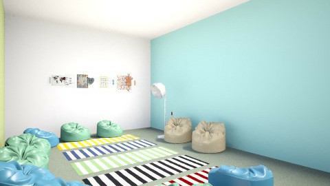 12year old Room 2 - Retro - by luisamaria01