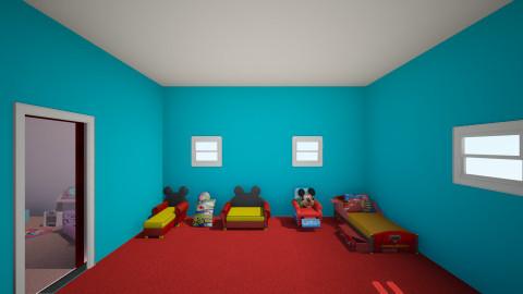 disney kids - Modern - Kids room  - by Kerri Delpippo