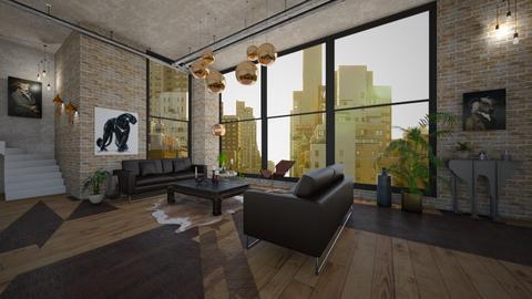 industrial - Living room - by Robert_Roisgard