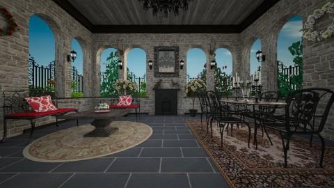 Rose Garden Terrace - Classic - Garden  - by Pirschjaeger