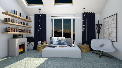 A Place To Enjoy - Modern - Bedroom  - by katarina_petakovi