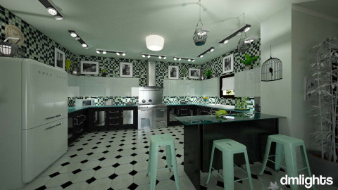 Onyx - Eclectic - Kitchen - by Lackew