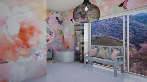 Cherry Bathroom - Classic - Bathroom  - by aschaper