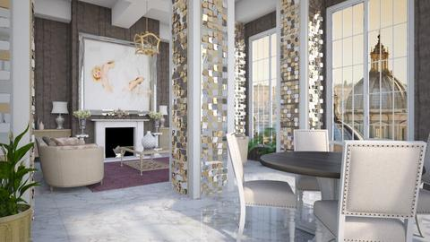 Columns - Living room  - by Lizzy0715