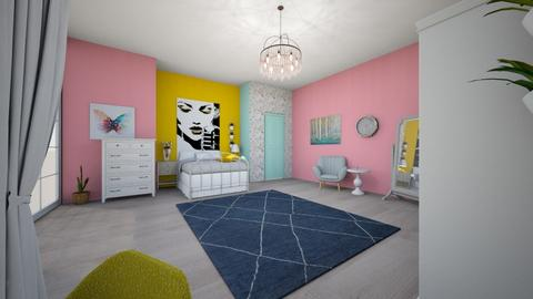 first desing - Bedroom - by judy j