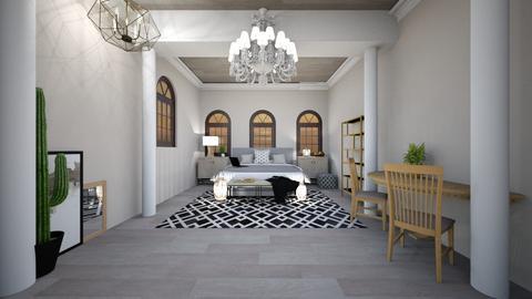 Geometric Bedroom - Bedroom  - by ItsKalaniOfficial