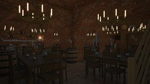 Medieval Fantasy Tavern - Rustic - Office  - by SammyJPili