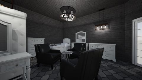 modern 3 cousin room - Modern - Kids room  - by jade1111