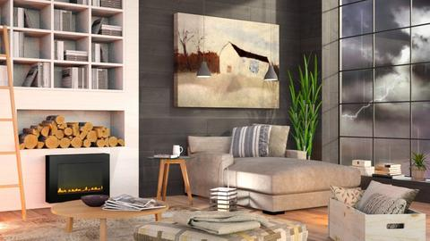 Stormy day Livingroom - Eclectic - Living room  - by Sally Simpson