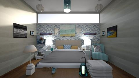 Beach room - Bedroom  - by Haylies_rooms