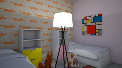 gender neutral kid room   - Kids room  - by sunnflowergirl