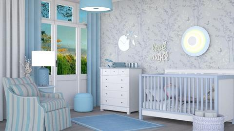 M_Blue dream - Kids room  - by milyca8
