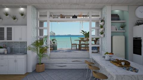Coastal kitchen - Kitchen  - by Nicky West