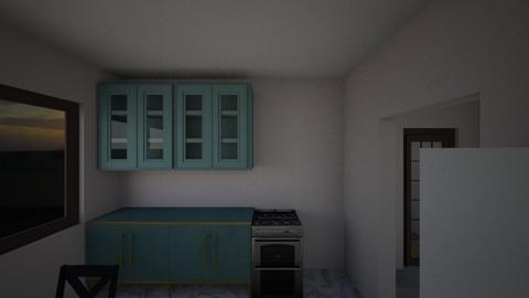 House 2 RM1 - Living room  - by Earvette