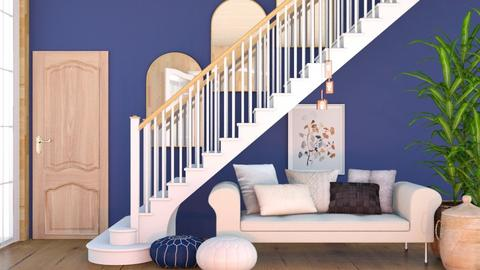 Under The Stairs - Classic - Living room  - by evabarrett