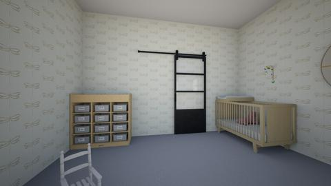 Nursery design  - Kids room  - by Ewillm3766