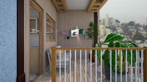 Porch - Garden  - by augustmoon