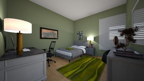 Design Studies Assignment - Bedroom  - by Fishyboy27