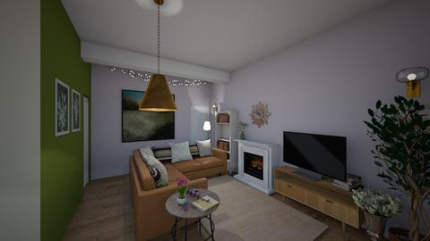 Weymouth Green view01 - Living room  - by Veeveenatyisy