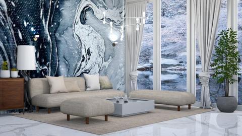 NYC High Rise Bedroom_FD - Minimal - Bedroom  - by FANGIRLdesigner