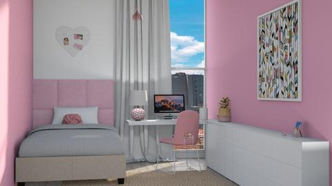 p i n k - Bedroom  - by eymuuuch
