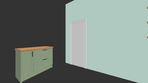 mint kitchen - Kitchen  - by Keiyomayo