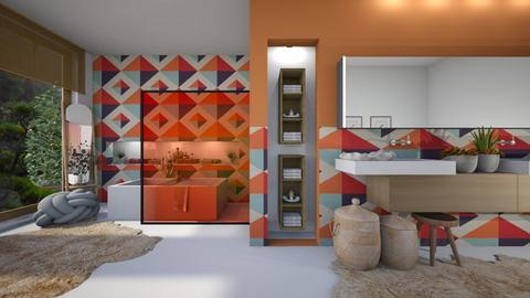 geometric - Bathroom  - by ana111