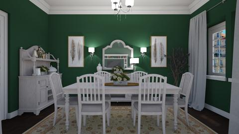 Woodland View 1 - Classic - Dining room - by Claudia Correia