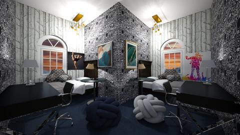 dark bedroom 2 kids - Kids room  - by CW THE HARRY POTTER FAN