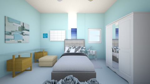 Dream room - Bedroom  - by Jillian Callis