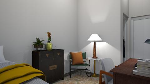 dorm - Bedroom  - by clairelist07