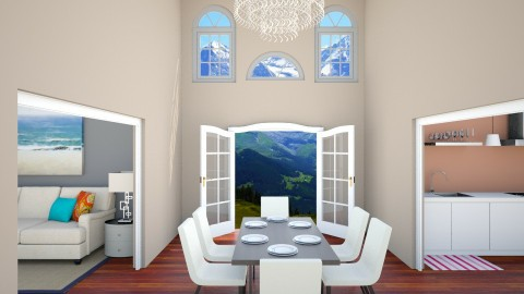 Mountin View Living Room - by Julieisawesome