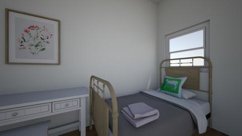 Dorm Room 2 - Bedroom  - by elianagreenberg25