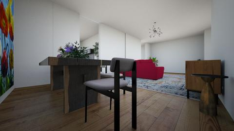 Dining 1 - Modern - Living room  - by sam24me2