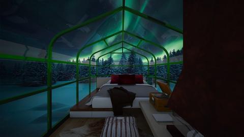 Honeymoon Under Aurora - Bedroom  - by SammyJPili