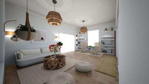 My Lake Abode LR - Living room  - by deannaduba