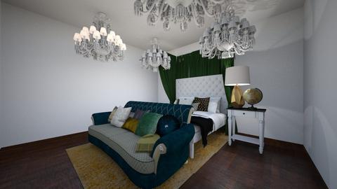 Art Nouveau Bedroom - Classic - Bedroom  - by ens15