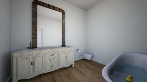 New bathroom - Classic - Bathroom  - by puppy1012