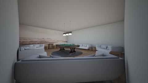 Pool Room - Modern - by riordan simpson