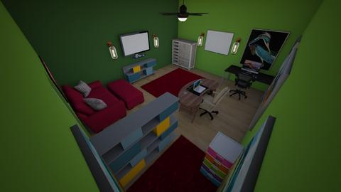 School Room_Feodora - Office  - by Rsvo64