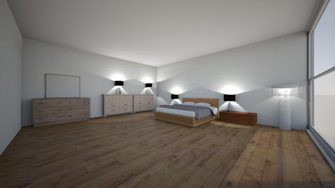 slaap kamer  - Bedroom - by renaldoschoonderbeek