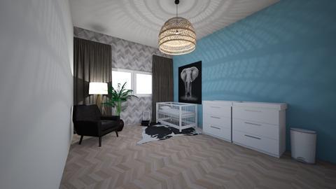 baby kamer jongetje - Kids room  - by LauraWalthaus