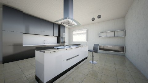 project 3 - Country - Kitchen  - by Tughral
