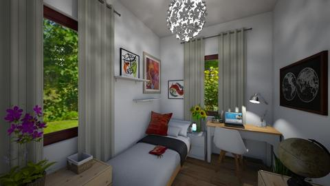 My room - Bedroom  - by Seahorse07