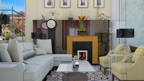 1 Mellow Yellow - Eclectic - Living room  - by decordiva1